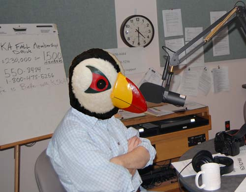 Puffin on-air